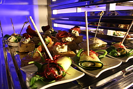 Eventlocation die kokerei Buffet