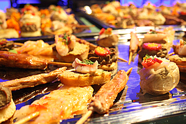 Eventlocation die kokerei Buffet III