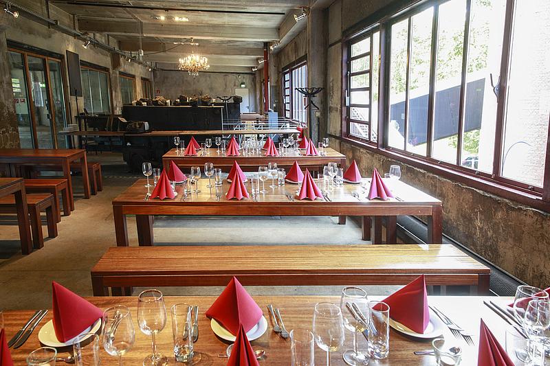 restaurant zeche zollverein: